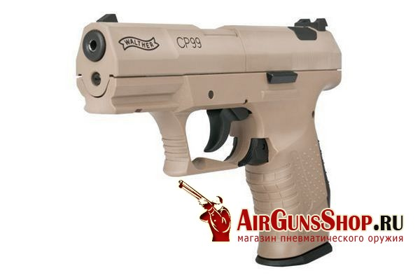 пистолет Umarex Walther CP99 Flat Dark Earth