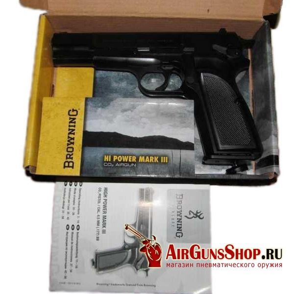 пистолет Umarex Browning Hi-power Mark III купить