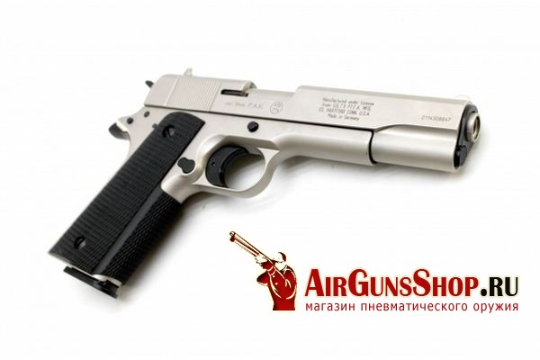 Фото Umarex Colt Government 1911 A1 Никель