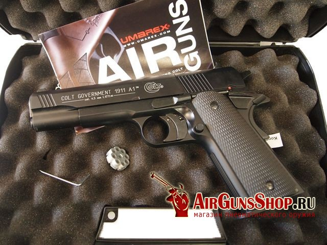 Colt Government 1911 A1 Никель