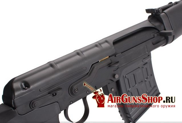цена King Arms Dragunov SVD Rifle AEG для страйкбола