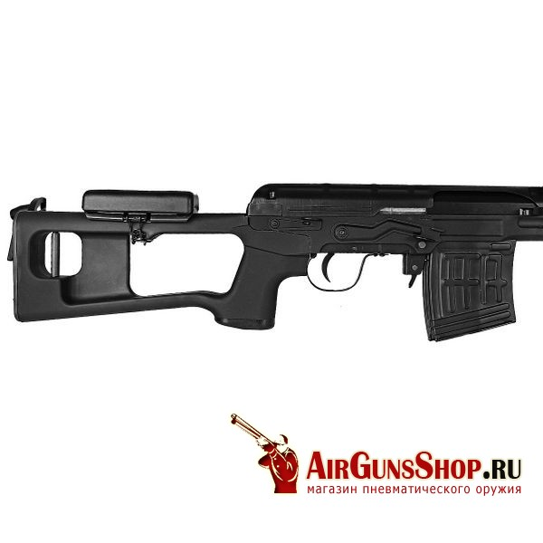 цена ASG Dragunov SVD Black