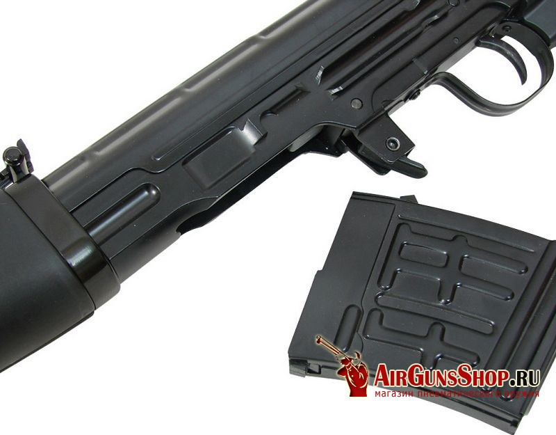 ASG Dragunov SVD Black купить
