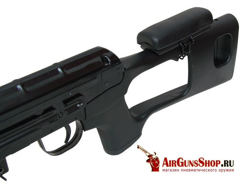 ASG Dragunov SVD Black фото и характеристики