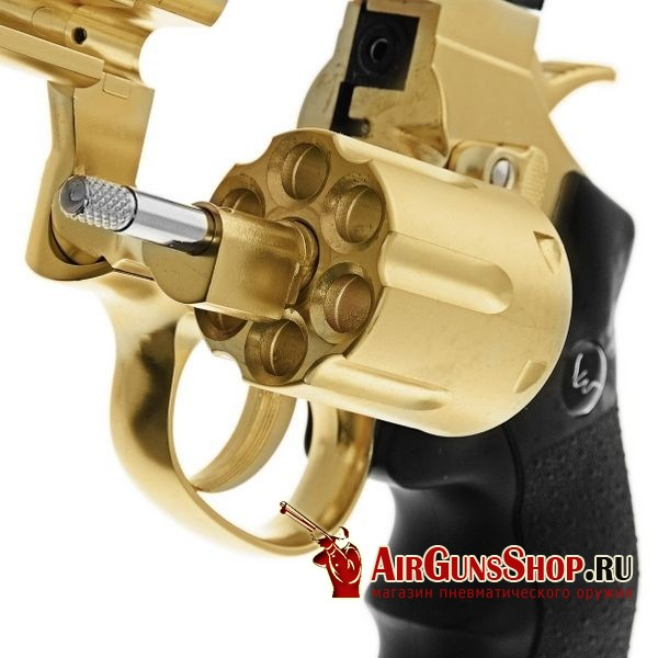 Револьвер ASG Dan Wesson 2.5 Gold CO2