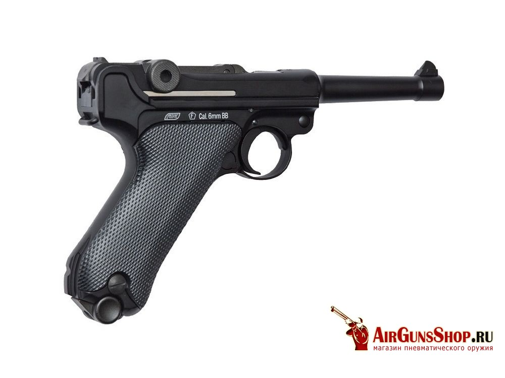 ASG Luger P08 Blowback лучшая цена