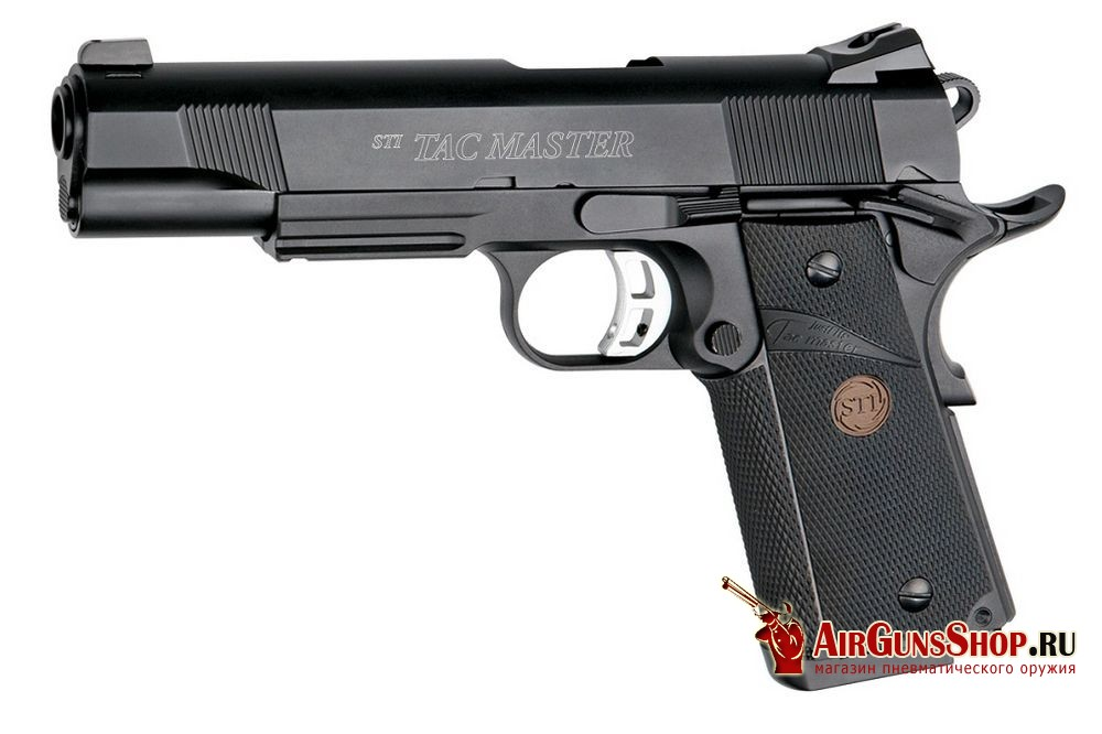 Пистолет ASG STI Tactical Master, грин газ, blowback (17181)