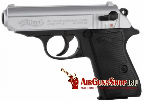 Пистолет Umarex Walther PPKS Steel Finish (2.5925)