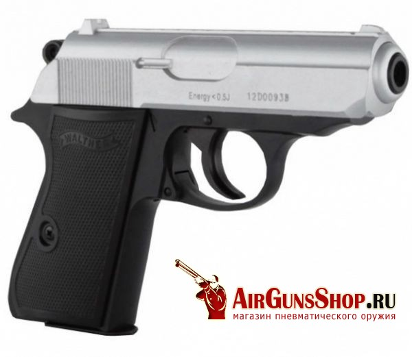 Umarex Walther PPKS Steel Finish