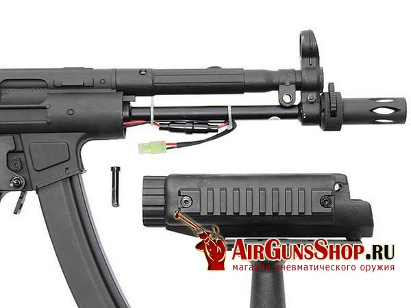 CYMA MP5 A5 RIS Full Metal фото и характеристики