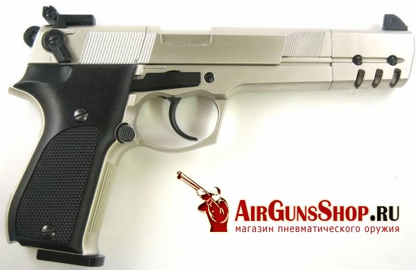 пистолет Umarex Walther CP88 Competition nickel
