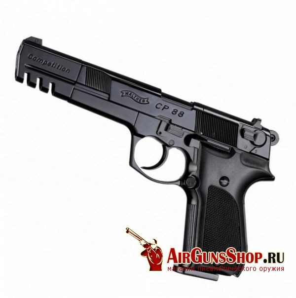 пистолет Umarex Walther CP88 Competition black